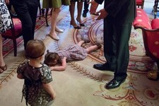 This Little Girl Will Never Forget Throwing a Tantrum in Front of the President