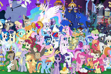 How Many of These 75 'My Little Pony' Characters Can You Name?