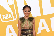 Look of the Day: Jada Pinkett Smith's Sheer Details