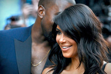 Stylish Celebrity Couples: Kim Kardashian and Kanye West