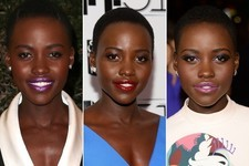 Lupita Nyong'o's Lipstick Rainbow: A Look Back on Her Most Show-Stopping Shades