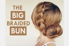 Hair How To: The Big Braided Bun