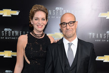 Stanley Tucci Welcomes a Son, 'Believes' It's His
