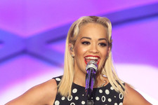 Rita Ora Looked Great at the Erase MS Event