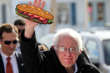 Here's What Twitter Thinks the 'Bernie Sandwich' Is Made of