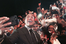 The Rock Breaks a World Record, Is Crowned King of Selfies