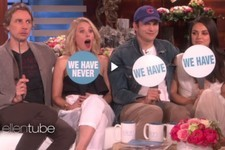 Mila Kunis and Kristen Bell Played 'Never Have We Ever' with Their Husbands on 'Ellen'