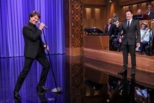 Tom Cruise Channels 'Risky Business' During Epic Lip Sync Battle