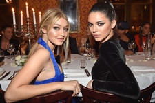 Look of the Day: Stylish BFFs Kendall Jenner and Gigi Hadid in Balmain