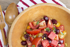 Cool Summer Salad: Watermelon, Cherry, and Tomatoes