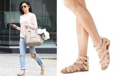 Found: Jenna Dewan Tatum's Strappy Sandals