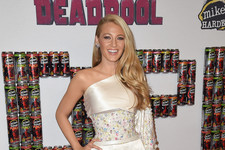 Look of the Day: Blake Lively's Sweet in Satin