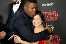 Kelly Marie Tran Was a Radiant Sunfish at the 'Star Wars: The Last Jedi' Premiere
