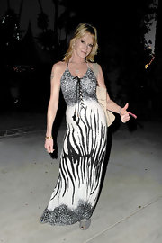 Melanie Griffith's lace-up zebra and leopard print dress made a powerful statement at Coachella.