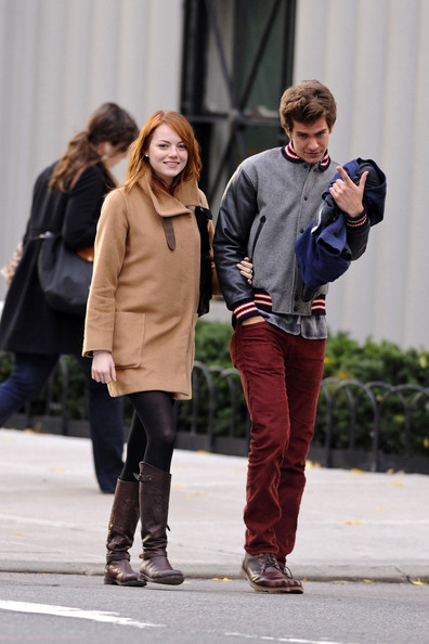 More Pics of Emma Stone Wool Coat (1 of 17) - Emma Stone Lookbook - StyleBistro