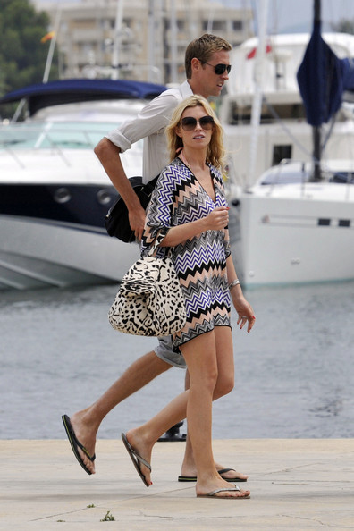 Abbey Clancy Printed Tote