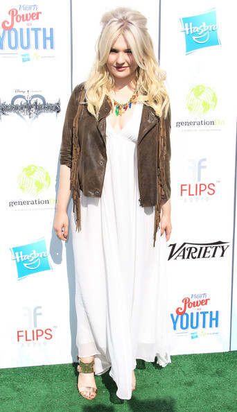 Abigail Breslin Maxi Dress