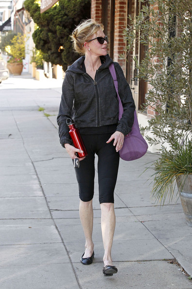 More Pics of Melanie Griffith Leggings (1 of 26) - Melanie Griffith Lookbook - StyleBistro