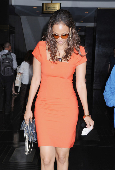 More Pics of Tyra Banks Cocktail Dress (2 of 2) - Tyra Banks Lookbook - StyleBistro