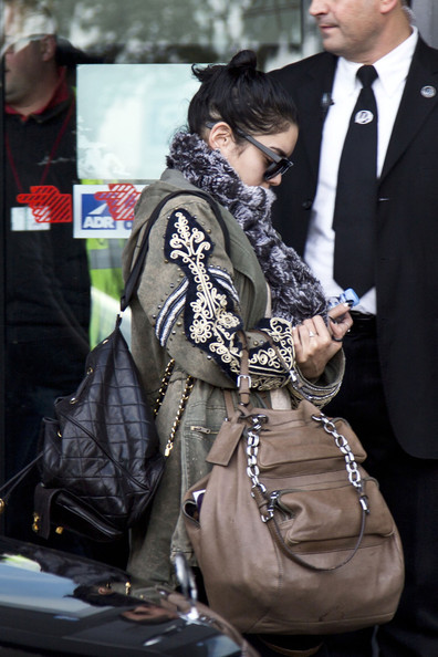 More Pics of Vanessa Hudgens Zip-up Jacket (3 of 11) - Zip-up Jacket Lookbook - StyleBistro
