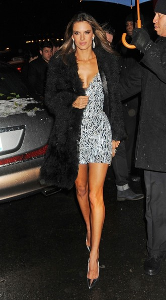 Celebs Arrive at the Victoria's Secret Fashion Show After Party