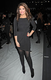 Kimberly Guilfoyle embodied simple elegance in this LBD during NY Fashion Week.