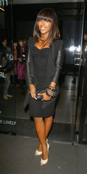 Alexandra Burke Leather Jacket