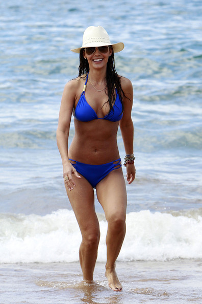Ali Landry Hits the Beach