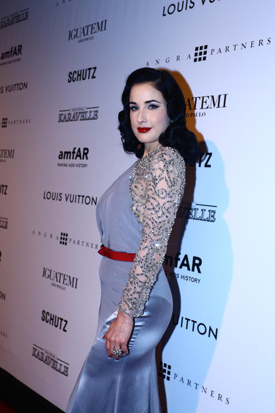 More Pics of Dita Von Teese Evening Dress (1 of 4) - Dita Von Teese Lookbook - StyleBistro