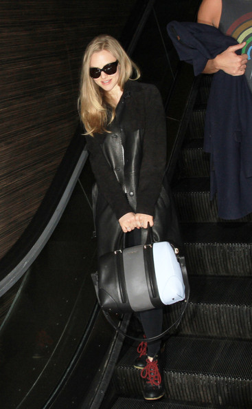 Actress Amanda Seyfried spotted at LAX Airport in Los Angeles