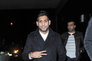 Amir Khan Flat Oxfords