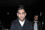 Amir Khan Pea Coat