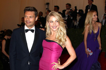 Ryan Seacrest Julianne Hough Celebs at the Costume Institute Benefit Gala 2012 at The Met