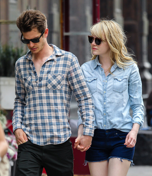 More Pics of Emma Stone Denim Shirt (4 of 10) - Emma Stone Lookbook - StyleBistro