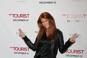 Angie Everhart Platform Pumps