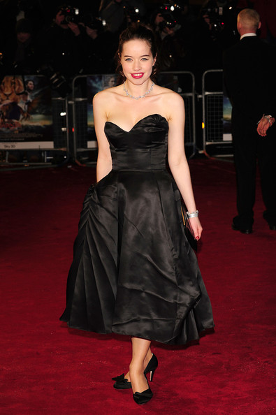 Anna Popplewell Evening Pumps