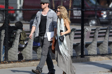 AnnaLynne McCord Kellan Lutz AnnaLynne McCord and Kellan Lutz In SoHo