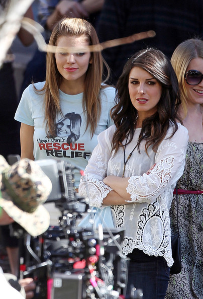 Scenes From the Set of '90210' in LA 2