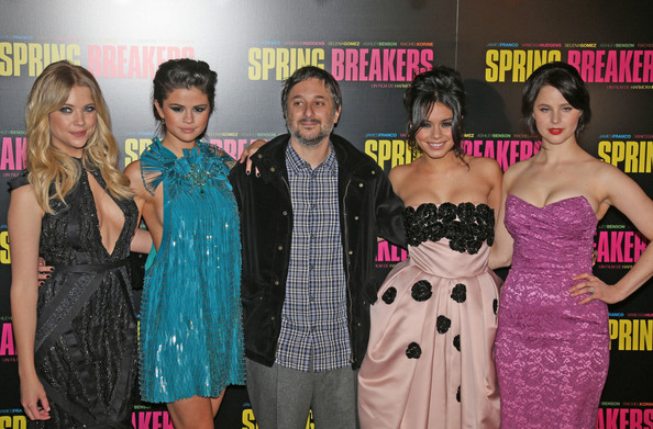 More Pics of Selena Gomez Beaded Dress (3 of 22) - Selena Gomez Lookbook - StyleBistro