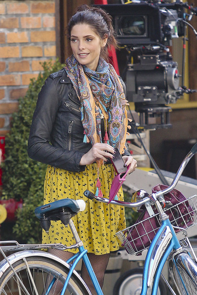 Ashley Greene Patterned Scarf
