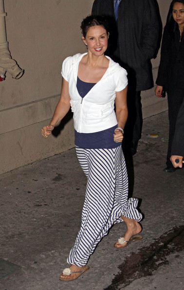 Ashley Judd Thong Sandals