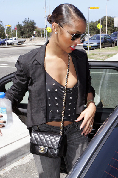 More Pics of Melody Thornton Quilted Leather Bag (1 of 9) - Melody Thornton Lookbook - StyleBistro