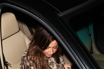 Ashley Tisdale Scott Speer Ashley Tisdale and Scott Speer at Katsuya 4