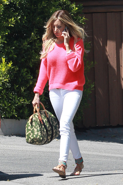 Ashley Tisdale Crewneck Sweater