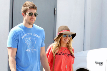 Ashley Tisdale Scott Speer Ashley Tisdale and Scott Speer in Beverly Hills