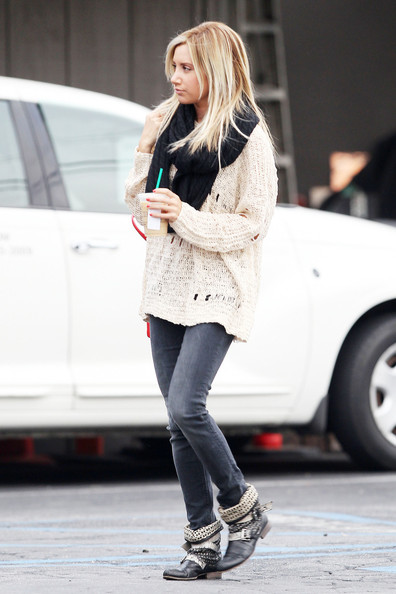 More Pics of Ashley Tisdale Skinny Jeans (4 of 13) - Ashley Tisdale Lookbook - StyleBistro