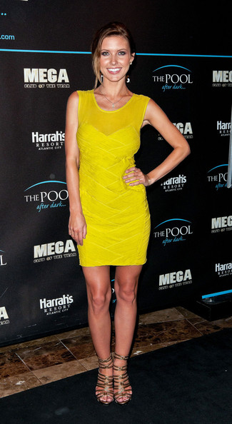 Audrina Patridge Mini Dress