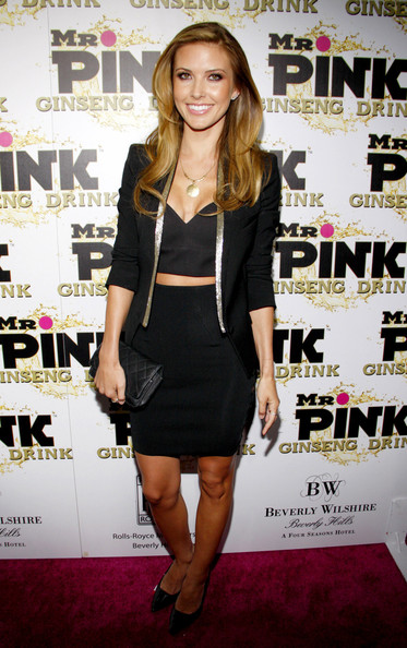 Audrina Patridge Fitted Jacket
