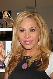 Adrienne Maloof sported wavy ends during the Magic Fashion and Apparel Trade Show.