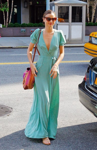 She Makes a Maxi-Dress Stunning